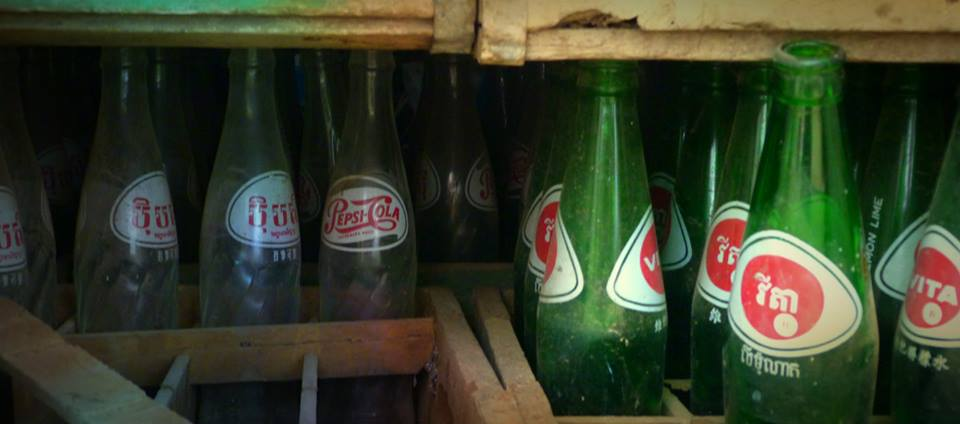 Cambodia Battambang Pepsi Favtory Bottles