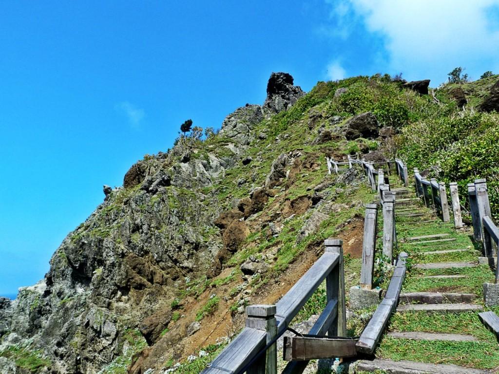 Hiking on Lanyu Island Taiwan