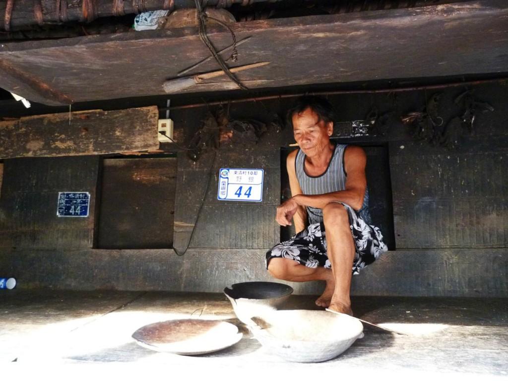 Inside Underground House on Lanyu Island