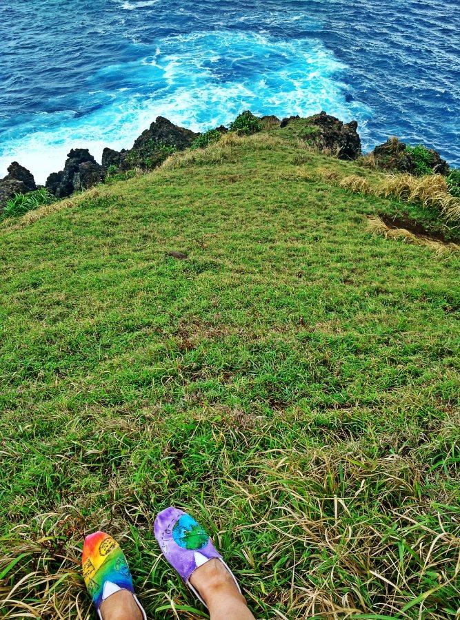 Lanyu Island Coast Cliff