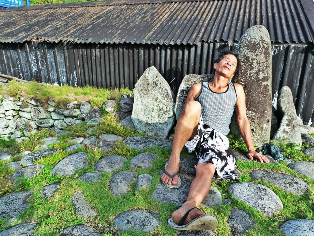Lanyu Island Resting Rock
