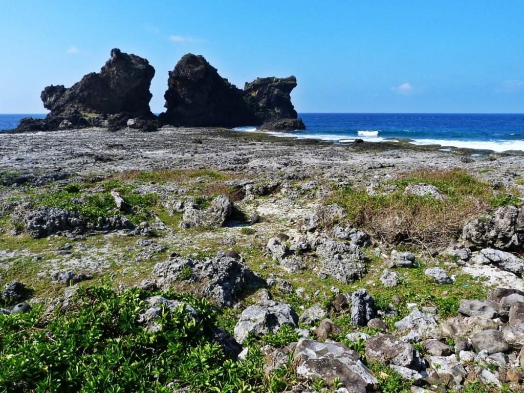 Lanyu Island Rocks