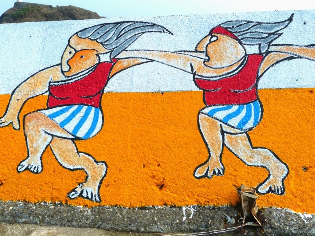 Lanyu Island Street Art Ladies