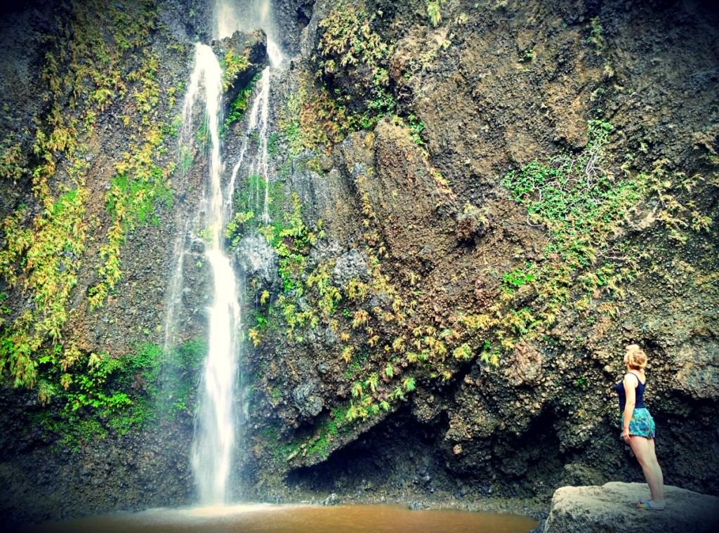 Waterfall on Lanyu Island